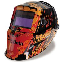 Beta Tools casque de soudage auto-obscurcissant LCD 7042LCD