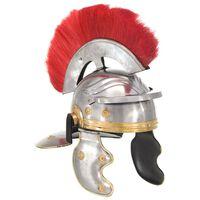 vidaXL Casque de soldat romain antique pour GN Argenté Acier
