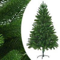 vidaXL Arbre de Noël artificiel Aiguilles réalistes 180 cm Vert