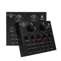Carte son ensemble audio interface usb externe et micro en direct