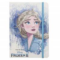 Frozen 2, Carnet aux Détails Scintillants - Elsa