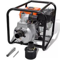 vidaXL Pompe à eau à moteur à essence Connexion de 50 mm 6,5 ch