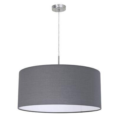 EGLO Lampe suspendue Pasteri rond Gris 31577