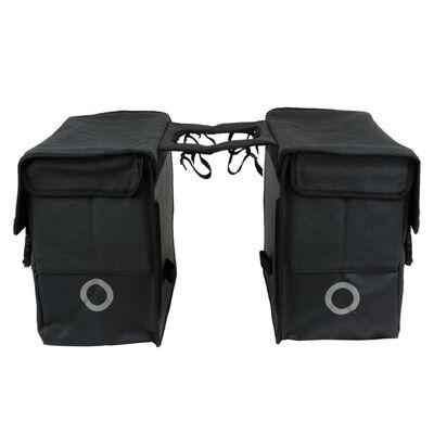 Willex Sacoches de vélo 57 L Noir mat et noir
