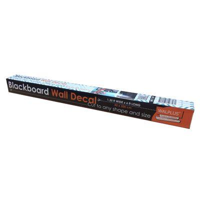 WALPLUS Autocollant de décoration tableau noir 200x45 cm Noir
