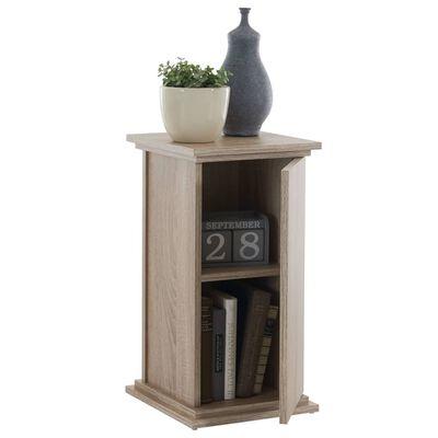 FMD Table d'appoint avec porte 57,4 cm Chêne