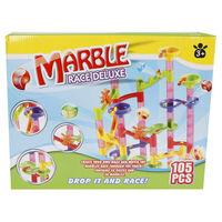 Marble racing Jeu de pistes à billes de luxe 105 pcs
