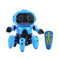 Jouet robot télécommandé avec évitement d'obstacles