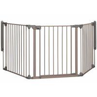 Safety 1st Barrière de sécurité Modular 3 3 panneaux Gris 24226580