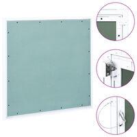 vidaXL Panneau d'accès Cadre en aluminium plaque de plâtre 500x500 mm