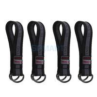 Barre de polyester durable suspendue swingstraps - ceintures de