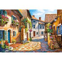 Puzzle 1000 pièces : Rue de Village