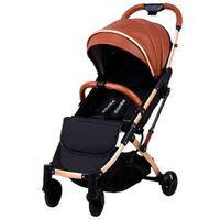 La poussette pliante ultra légère pour bébé peut s'asseoir ou