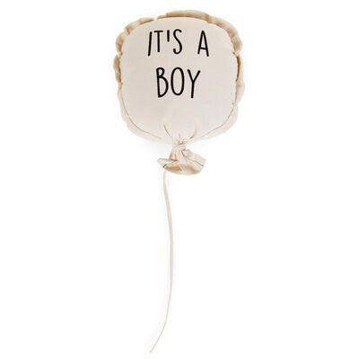 CHILDHOME Ballon décoratif en toile It's a Boy