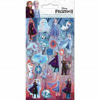 Frozen 2 / La Reine des neiges 2, 22x Autocollants