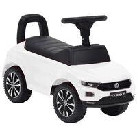 vidaXL Voiture à pédales Volkswagen T-Roc Blanc