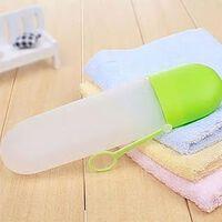 Voyage brosse à dents dentifrice étui porte-couverture portable