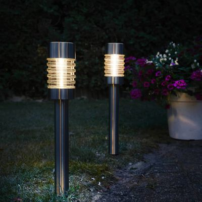 Luxform Lampe de jardin à LED solaire Torino 2 pcs