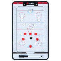 Pure2Improve Tableau d'entraîneur Hockey sur glace 35x22 cm P2I100640