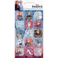 Frozen 2 / La Reine des neiges 2, 15x Autocollants
