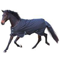 Kerbl Couverture pour chevaux RugBe 200 Noir 145 cm 326129