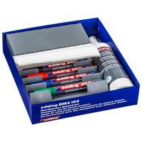 edding Jeu d'accessoires pour marqueurs de tableau blanc 27pcs BMA 15S