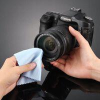 Chiffon de nettoyage doux 10pcs - Chiffon d'essuyage de caméra