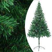 vidaXL Arbre de Noël artificiel avec support 180 cm 564 branches