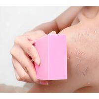 1pc éponge de bain douce pour le corps relaxant spa masseur -