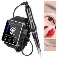 Machine de tatouage de maquillage permanent pour sourcils, eye-liner,