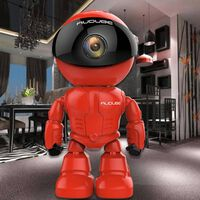 Wireles-robot wifi 1.0mp caméra ip / p2p cctv-cam baby-monitor