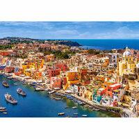Puzzle 1500 pièces : Marina Corricella, Italie