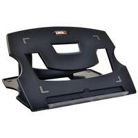 DESQ Support de table pour ordinateur portable 28,5x21x1 cm Noir