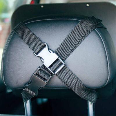 A3 Baby & Kids Miroir de voiture ajustable pour bébé 26,5x19 m Noir