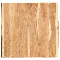 vidaXL Dessus de table Bois d'acacia massif 60x(50-60)x3,8 cm
