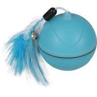 FLAMINGO Jouet balle à LED 2 en 1 Magic Mechta Bleu 7 cm