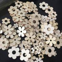 Artisanat de fleurs en bois pour la fête de mariage, décoration de