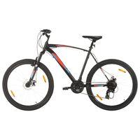 vidaXL Vélo de montagne 21 vitesses Roues 29 pouces Cadre 58 cm Noir