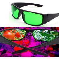 Faire pousser des lunettes de protection hydroponique intérieure led