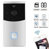Caméra de sonnette d'interphone vidéo intelligente wifi, vision