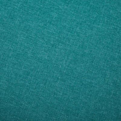 vidaXL Canapé à 3 places Tissu Vert
