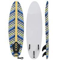 vidaXL Planche de surf 170 cm Design de feuille