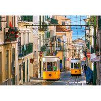 Puzzle 1000 pièces : Tramway de Lisbonne, Portugal
