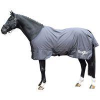 Covalliero Couverture d'extérieur pour chevaux RugBe Zero 115 cm Gris