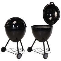 ProGarden Barbecue sous forme de bouilloire 54x92 cm