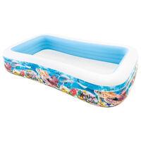 Intex Piscine Swim Center Family 305x183x56 cm Design de vie marine
