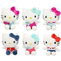 Hello Kitty, 1x Peluche (13 cm) - Vendu au Hasard