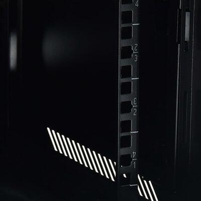 """vidaXL Coffret de réseau pieds pivotants 22U 19"""" IP20 1050x600x1170 mm"""