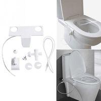 Dispositif sanitaire de rinçage des toilettes Siège de