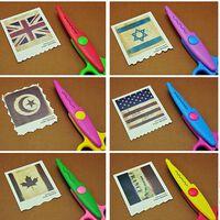 Artisanat en papier pour enfants 6 modèles de coupe ciseaux à bords